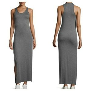 NWT Theory Grey Maxi Dress